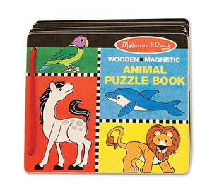 Animal Puzzle Book
