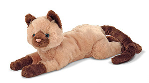 Sophie Siamese Cat Stuffed Animal