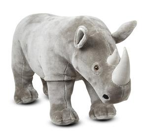 Rhinoceros Lifelike Stuffed Animal