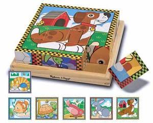 Pets Cube Puzzle