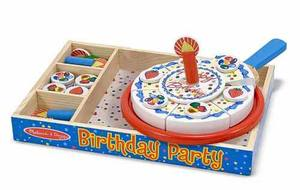 Birthday Party - Wooden Play Food