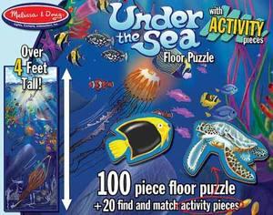 Action Underwater Floor Puzzle - 100 Pieces