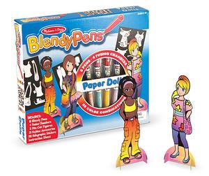 Blendy Pens Marker and Activity Set - Paper Dolls