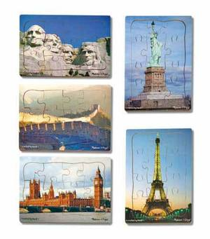 World Landmarks Puzzle Set