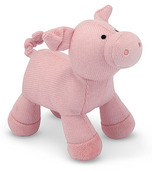 Sweater Sweetie Pig Stuffed Animal