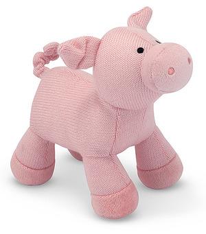 Sweater Sweetie Pig Stuffed Animal