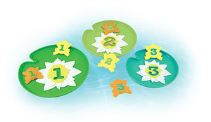 Froggy Lily Pad Toss Pool Toy
