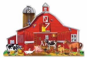 Farm Friends Floor Puzzle - 32 Pieces