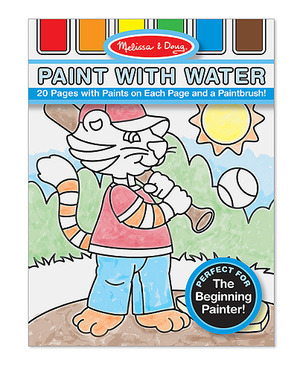 Blue Paint with Water Kids' Art Pad