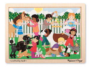 Best Friends Wooden Jigsaw Puzzle - 12 Pieces