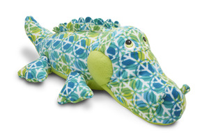 Beeposh Groovy Alligator Stuffed Animal