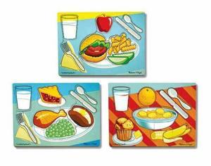 Breakfast, Lunch & Dinner Puzzle Set