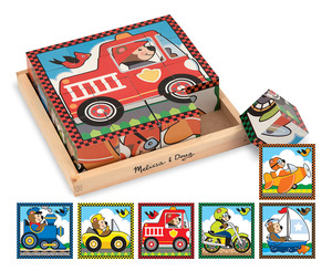 Vehicles Cube Puzzle
