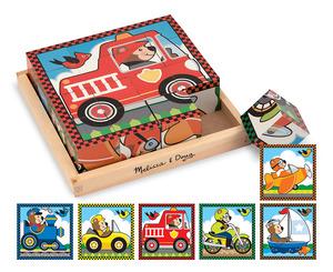 Vehicles Cube Puzzle