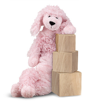 Longfellow Poodle Dog Stuffed Animal
