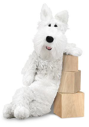 Longfellow Westie Dog Stuffed Animal