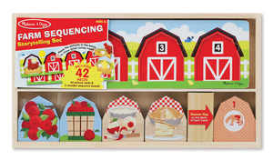 On the Farm Sequencing Puzzle Set