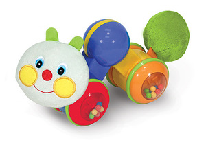 Press & Go Inchworm Baby and Toddler Toy