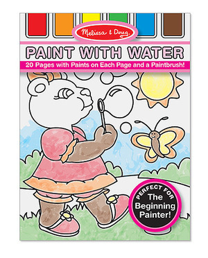 Pink Paint with Water Kids' Art Pad