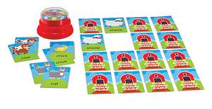 Farm Animal Pairs Press & Spin Game