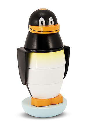 Penguin Stacker Wooden Toddler Toy