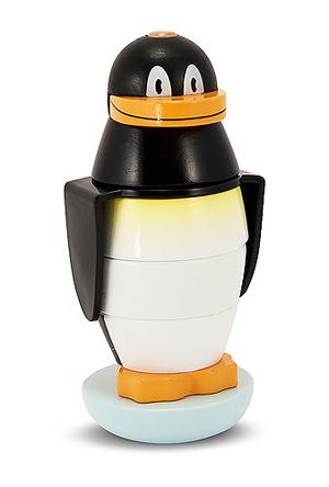 Penguin Stacker Wooden Toddler Toy