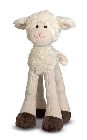 Lanky Legs Lamb Stuffed Animal