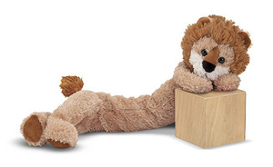 Longfellow Lion Stuffed Animal