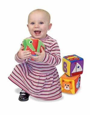 ABC Blocks Soft Toy Set