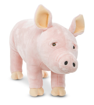 Pig Lifelike Stuffed Animal