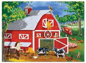 Barnyard Jigsaw Puzzle - 30 Pieces