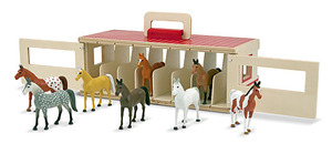 Take-Along Show-Horse Stable Play Set