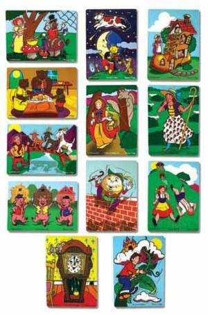 Fairy Tales & Nursery Rhymes Puzzle Set 1