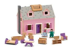 Fold & Go Mini Dollhouse