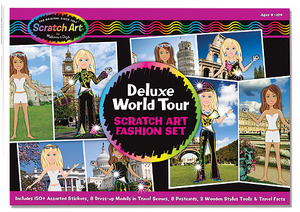 Scratch Art® Deluxe World Tour Fashion Set