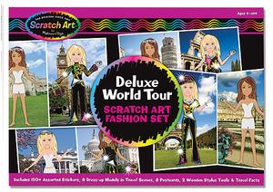 Scratch Art® Deluxe World Tour Fashion Set