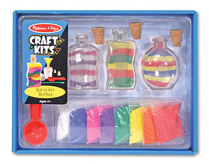 Sand Art Bottles Craft Kit
