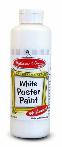 White Poster Paint