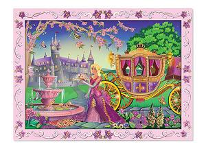Fairytale Princess Peel & Press Sticker by Numbers