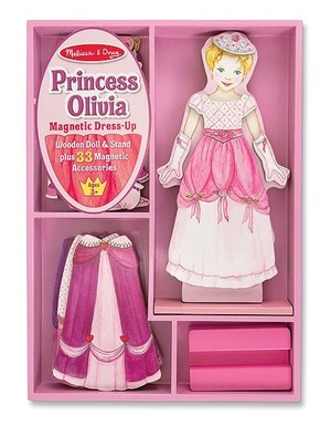 Princess Olivia Magnetic Dress-Up Set