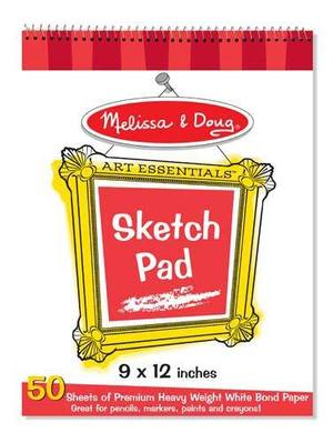 Quality Spiral-Bound Sketch Pad