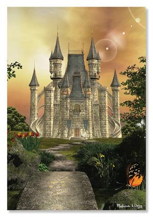 Towering Castle Cardboard Jigsaw - 200 Pieces