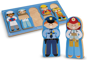 Mix! Match! Stack! Chunky Puzzle - Occupations
