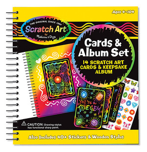 Scratch & Trade™ Friendship Cards and Album Set