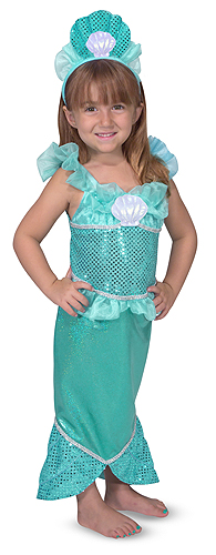 Mermaid Role Play Costume Set