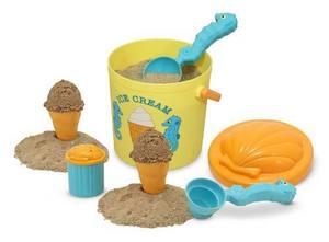 Speck Seahorse Sand Ice Cream Set