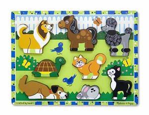 Pets Chunky Puzzle - 8 Pieces