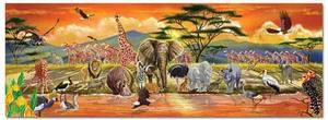 Safari Floor Puzzle - 100 Pieces