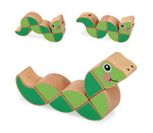 Wiggling Worm Grasping Baby Toy