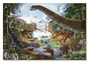 Prehistoric Waterfall Cardboard Jigsaw - 200 Pieces